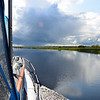 Rapport stopped off in Banagher for the night and Arthur continued on her way to Portumna.  The weather was truly glorious...dead calm on the water and sun beaming down from above...
