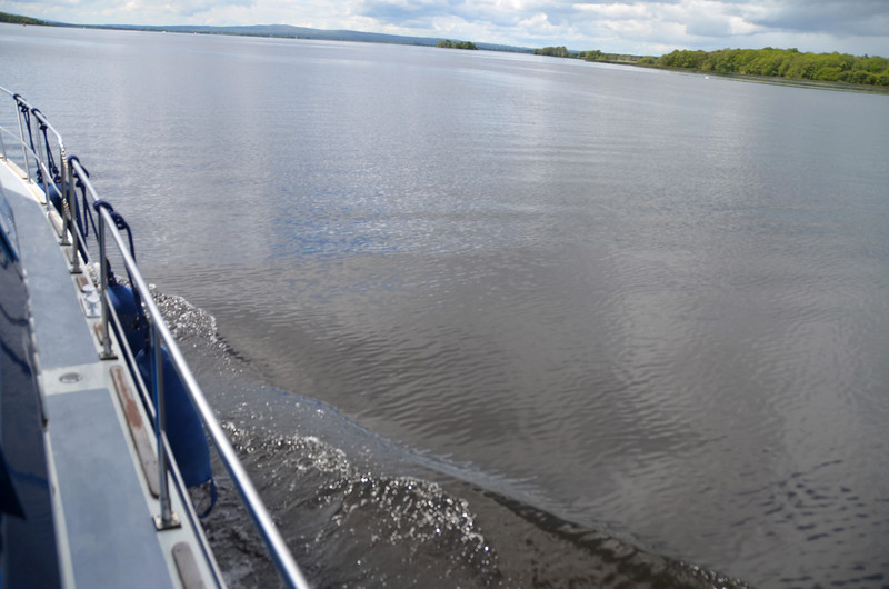 Saturday, 11th June, 2011...circa 12.48.  We have just come through Portumna Bridge and are headed to Dromaan for a light lunch.  And then it is back to Portumna. The weather forecast for Sunday is not good!