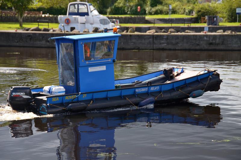 Waterways ireland Sea Rover 21.