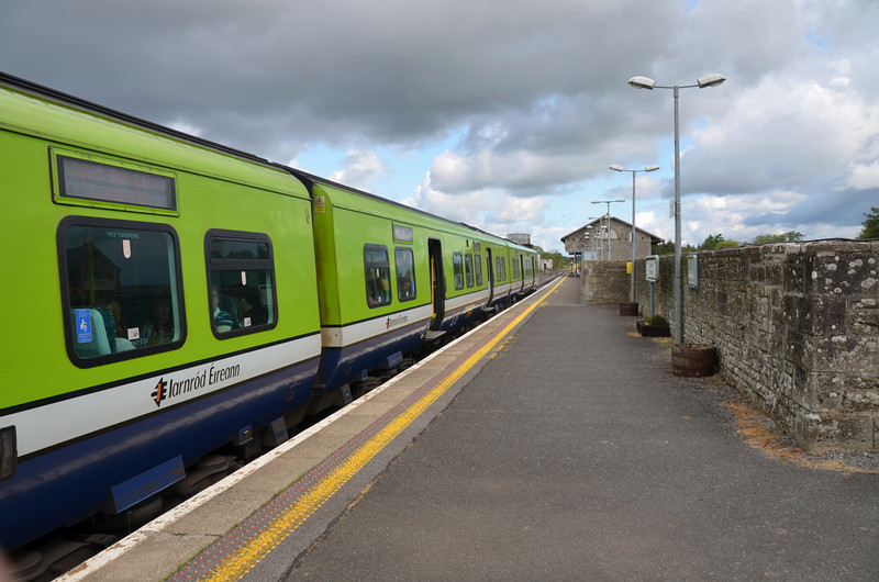One huge benefit for local residents is the mainline station that serves Sligo and Dublin!