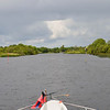 Circa 13.30 hrs.... the approach to Rooskey Lock.