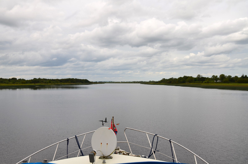 Another section of the navigation that reminded us of the channel to Ballinasloe.