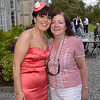Mary with one of her former students....GMIT Hotel Management graduate Una McKeon. Una was attending a wedding at the hotel.