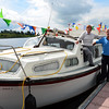 Rayian with her crew, Sean Murphy and his wife, all the way from Portumna, enjoying the good weather over the weekend at Carrick. Sean, a long-time member of the IWAI, is the author of the booklet 'Shannon Skipper'.