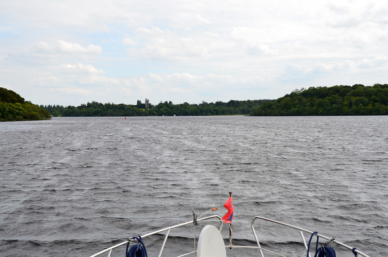 Approaching Lough Key Forest Park