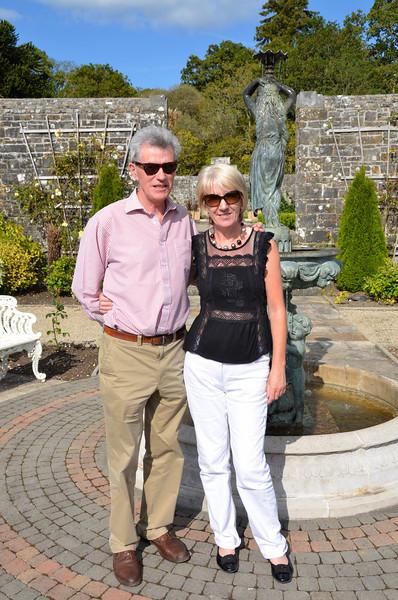 Shane & Alice in the gardens