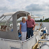 Crew of Aquarius, Robert & Phyllis Navan, who had just particpated on the first CIC on the Royal Canal.