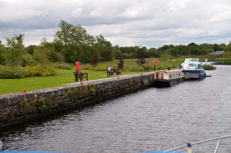 Quayside at Ardanaffrn Bridge...