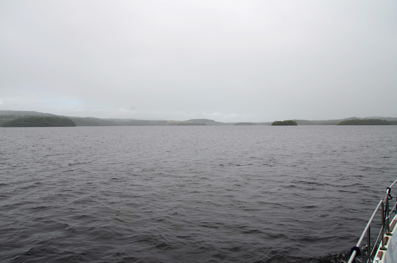 Some of the islands that dot Lough key.