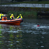 Circa 21.30hrs....The Athlone Sub-Aqua Club on exercise duty opposite the town marina...
