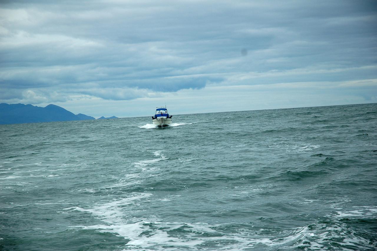 """""""Arthur"""" on the Shannon Estuary.<br /> <br /> Photo: Caoimhe Ryan"""
