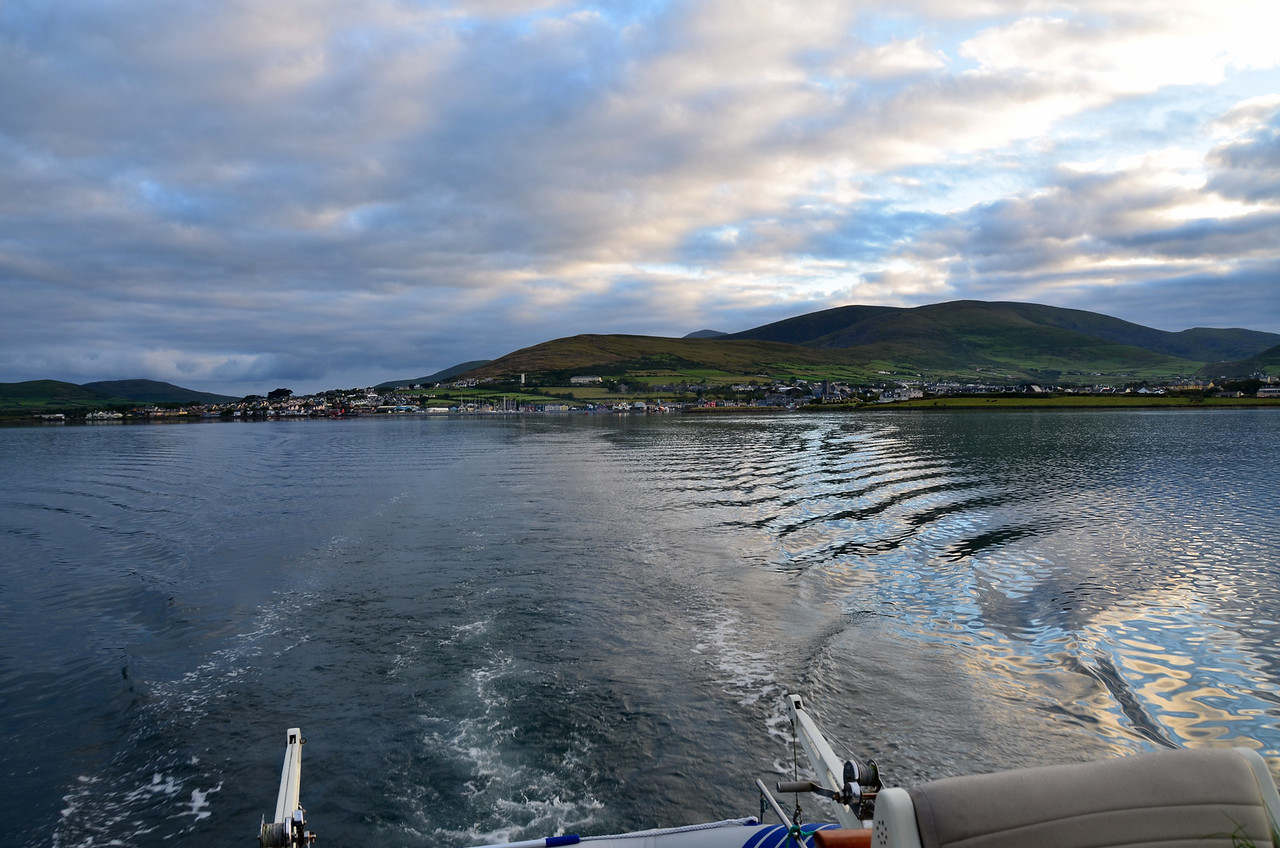 Leaving Dingle in our wake...