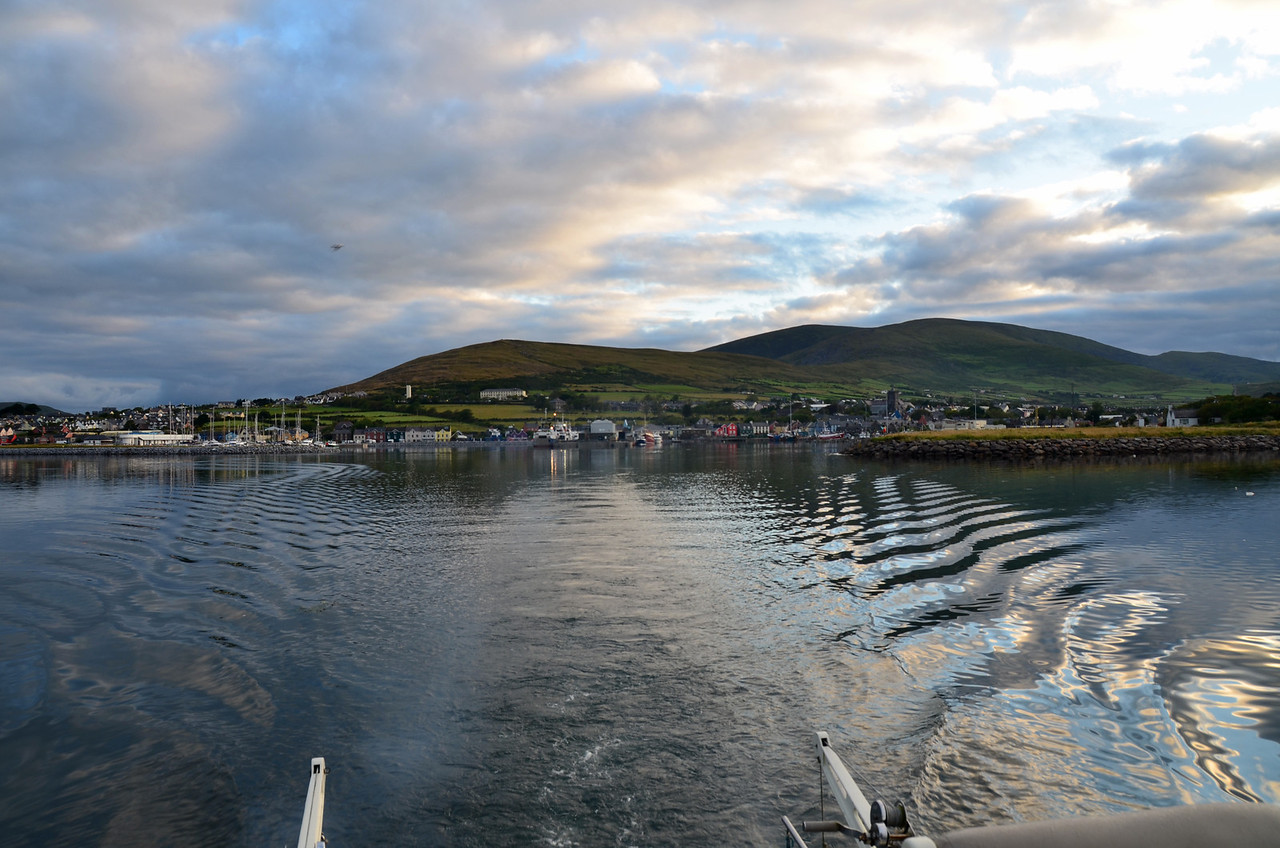Arthur exited Dingle Marina circa 06.40. Pantou Pao and Colibri followed shortly thereafter.