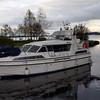Colibri about to berth in Gortmore...