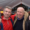 Long-time friends and former working colleagues  John Breslin and Les Saunders