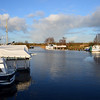 Saturday, 17th December, 2011....circa 10.00 hrs. Maddens Marina, Portumna. Decided to head to Banagher for a last cruise before Christmas. Weather glorious. Sunshine and a clear sky.  What more could one ask for. Ok, no smart replies!