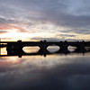 Sunday, 18th December, 2011 circa16:15 hrs. Banagher Bridge...gotta love those colours. Heading home tomorrow.