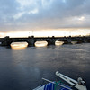 Banagher Bridge as viewed from Silverline Marina at circa 15.30 hrs.