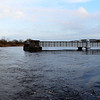 A Panorama of Portumna Swing Bridge.