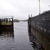 Still only one gate opening at Victoria Lock, Meelick!
