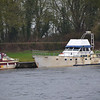 The 'Big White Boat' at Meelick quayside... and still afloat.