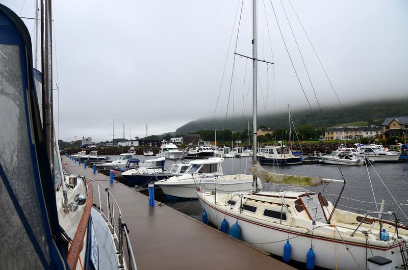 Cahersiveen Marina located on Valentia River.