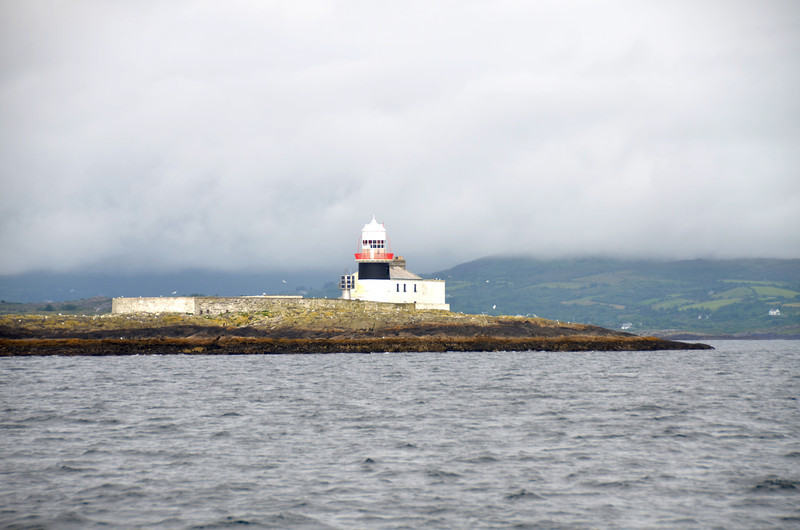 Roancarrig Lighthouse on Bere Island.
