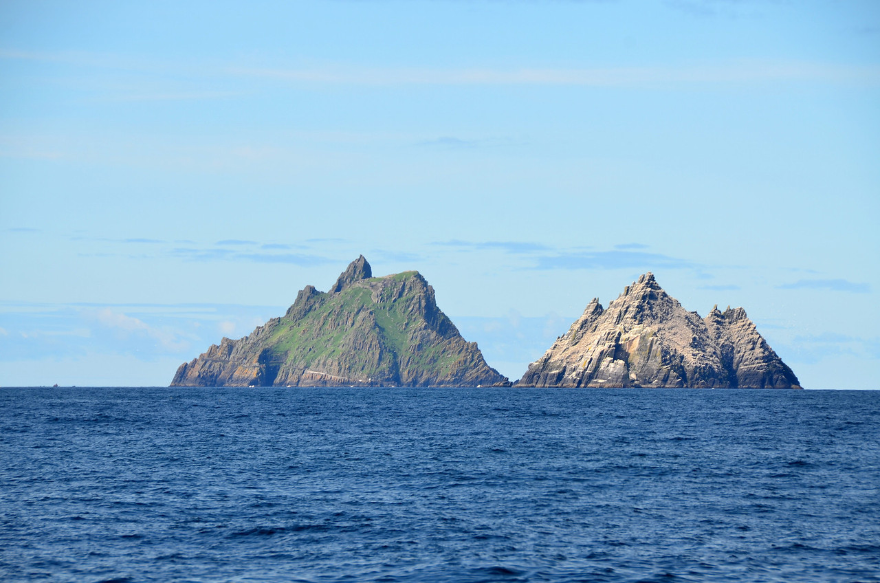 The Skelligs...another perspective! It is fascinating to observe how the view changes as we continue our passage south.