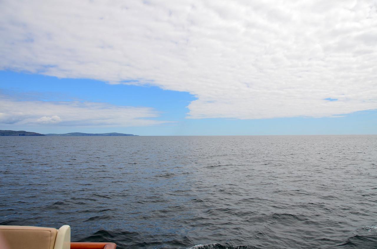 Looking astern at Bantry Bay