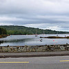 Friday, 27th July 2012.  We  made the (relatively!) short passage to Glengarriff, ostenslbly for an overnight stay, and ended up staying for several days!  This panorama represents the view of Glengarriff Bay from  just in front of Eccles Hotel.