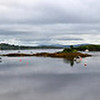 "A second panorama of Glengarriff Bay.  ""Arthur"" in background (left-hand side of bay)...the only 'mobo' in sight!"