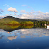 Another panorama taken from Arthur's mooring. Again, Eccles Hotel on extreme right. Garinish Island on left.