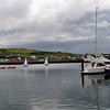 "Sunday, 6th August, 2012.  A panorama of Dingle Marina as viewed from ""Arthur"""