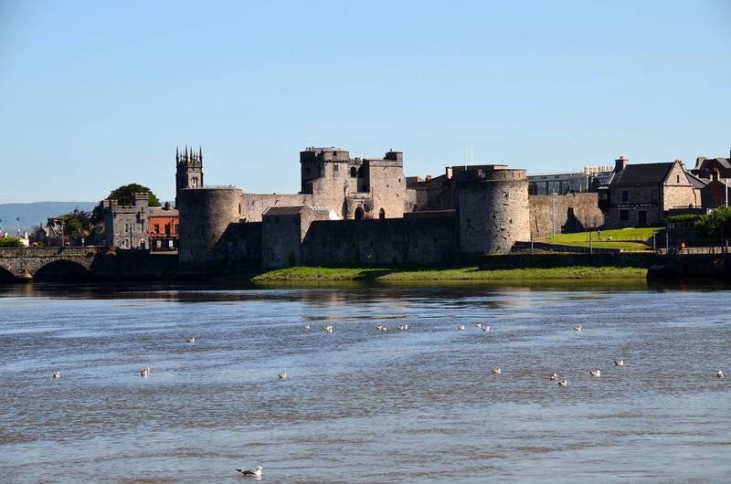 King John's castle, Limerick