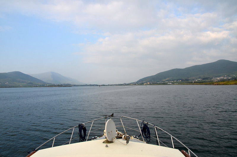 Cahersiveen ahoy! And the sun has re-appeared... :-)