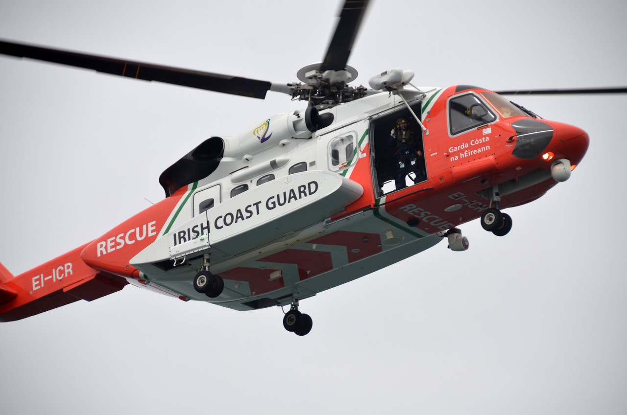 Close-up of the ICR helicopter.