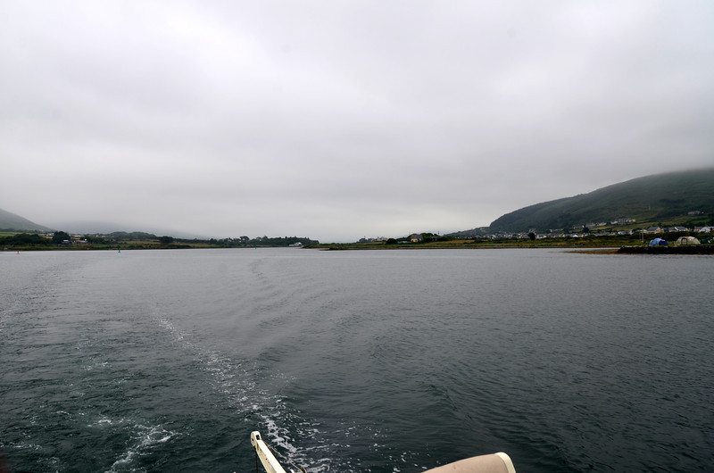 "Day 7,  Sunday, 14th July - ""Arthur"" departs Cahersiveen bound for Lawrence Cove, Bantry Bay"