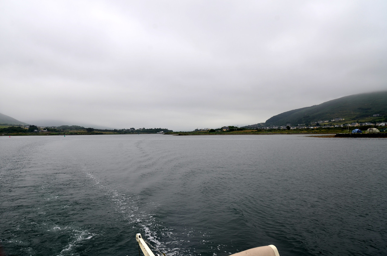 """Day 7,  Sunday, 14th July - """"Arthur"""" departs Cahersiveen bound for Lawrence Cove, Bantry Bay"""
