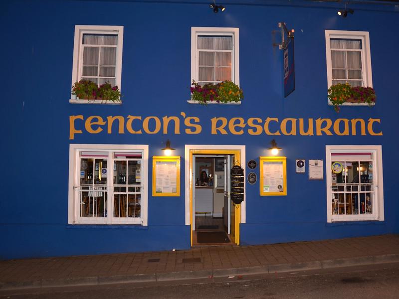 Fenton's Restaurant, Dingle.