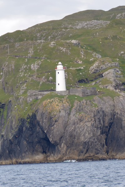 Ardnakinna Lighthouse at the entrance to Berehaven.