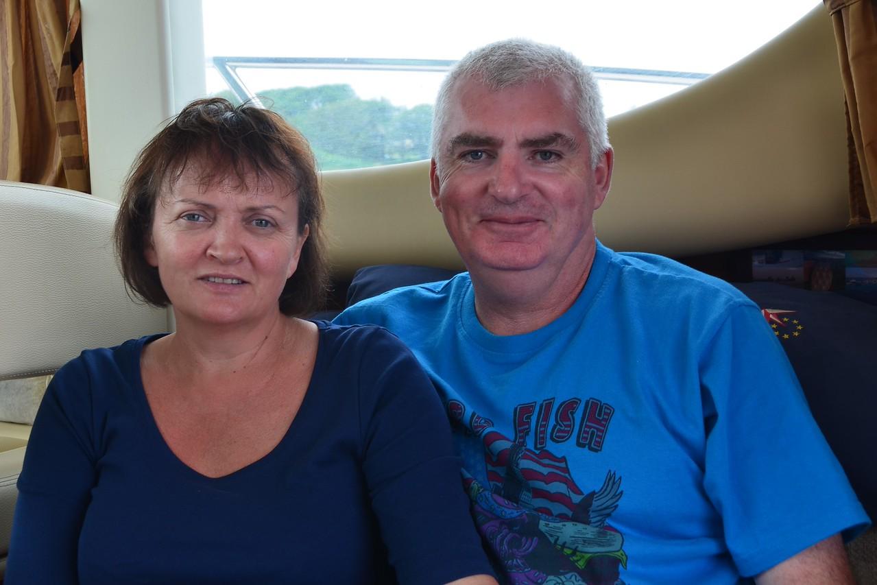 Anthony & Catherine of 'Seagulls & Salt'