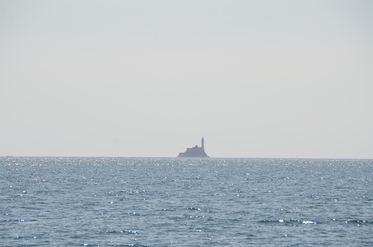 Farewell Fastnet Rock...hope to return in 2015 and circumnavigate it!