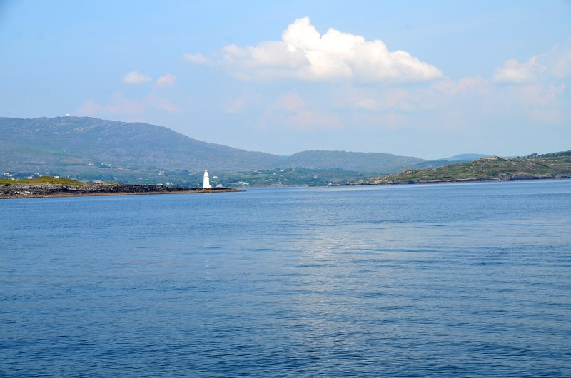 Copper Point at the tip of Long Island and the mouth of the entrance to Schull Harbour.