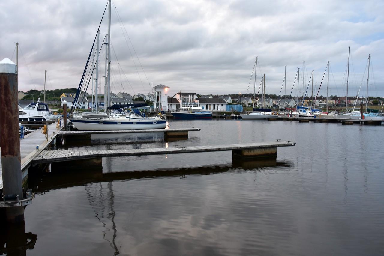 Evening shot of Kilrush Marina.