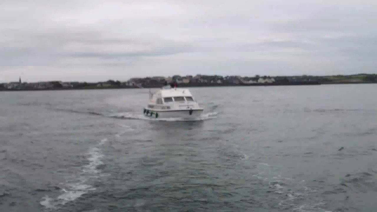 VIDEO<br /> <br /> click the above image to view a 30 second video clip of the three cruisers as they depart Kilrush. <br /> <br /> When the video is 'Loaded' you will need to click on the 'Play' button to start the video playback.<br /> <br /> NOTE that viewing the video will cause another page to open in which the video will play. To return to the PhotoJournal click on the X at top right-hand corner of the video page  OR hit the 'Back' button on your browser.