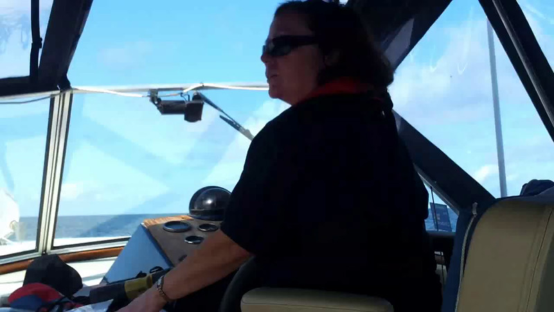 VIDEO<br /> <br /> circa 10:20... click the above image to view a 49 second video clip of Arthur approaching Smewick Harbour as Mary takes the helm and Paul grabs his cameras. <br /> <br /> When the video is 'Loaded' you will need to click on the 'Play' button to start the video playback.<br /> <br /> NOTE that viewing the video will cause another page to open in which the video will play. To return to the PhotoJournal click on the X at top right-hand corner of the video page OR hit the 'Back' button on your browser.