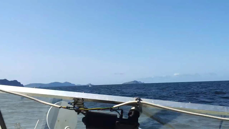 VIDEO<br /> <br /> circa 11:27... waiting for Snow Mouse before we transit the Blasket Sound. <br /> <br /> Click the above image to view a 30 second video clip. <br /> <br /> When the video is 'Loaded' you will need to click on the 'Play' button to start the video playback.<br /> <br /> NOTE that viewing the video will cause another page to open in which the video will play. To return to the PhotoJournal click on the X at top right-hand corner of the video page OR hit the 'Back' button on your browser.