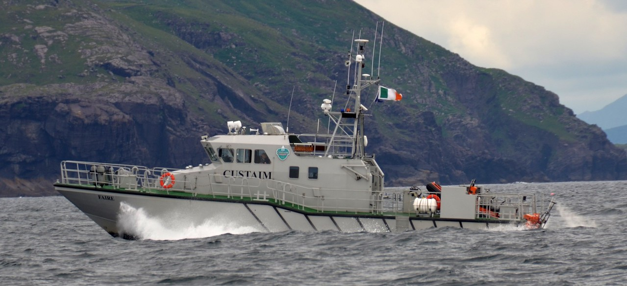 RCC Faire ... 19th July 2014...between Dursey Head and Valentia Island. This is one of my favourite photos.