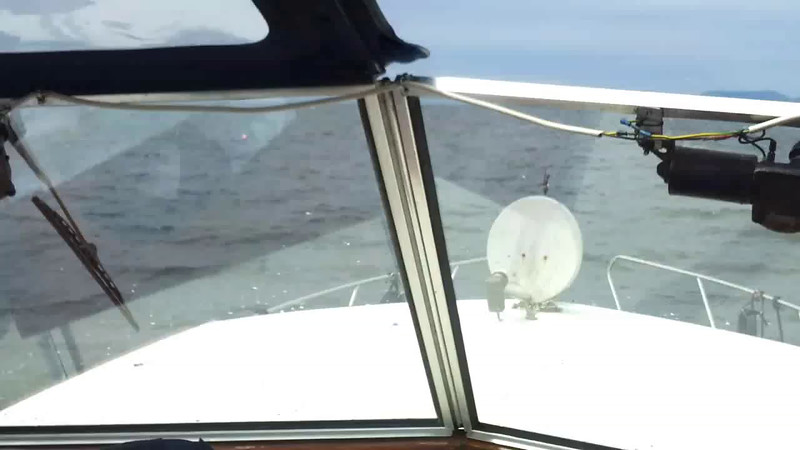 "VIDEO<br /> <br /> 12:58...click the above image to view a 65 second video clip  of ""Arthur"" on Bantry Bay as she head for Lawrence Cove.  <br /> <br /> When the video is 'Loaded' you will need to click on the 'Play' button to start the video playback.<br /> <br /> NOTE that viewing the video will cause another page to open in which the video will play. To return to the PhotoJournal click on the X at top right-hand corner of the video page  OR hit the 'Back' button on your browser."