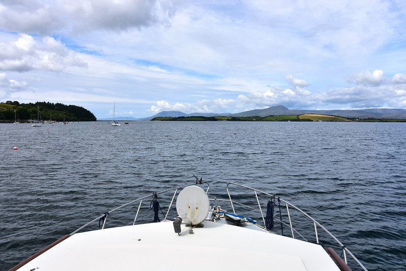 12:12... we commence our departure from Bantry Harbour bound for Lawrence Cove. Passage duration will be circa 2 hours.